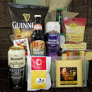 Beer & Cheese Gift Basket