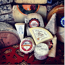 Some of our cheeses - Apr 3, 2014