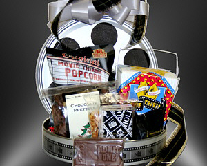 Hollywood gift baskets by fancifull gift baskets hooray for hollywood gift basket negle Gallery