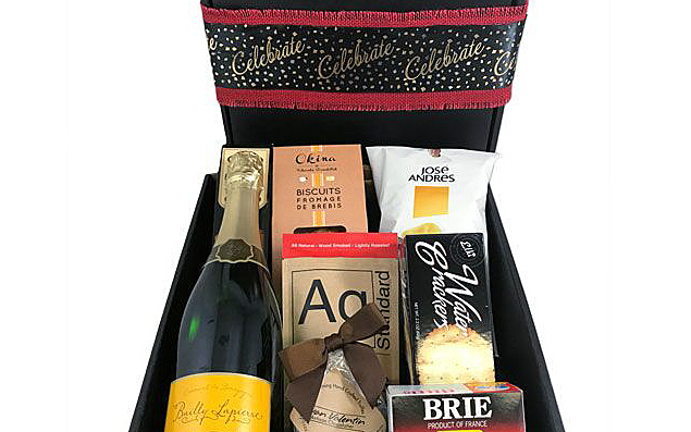 champagne celebration gift box