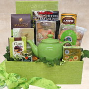 Purely Organic Tea Gift Basket