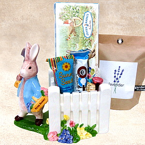Peter Rabbit Planter Gift Basket