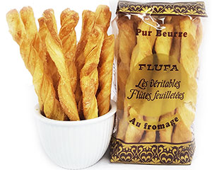 Flufa Flaky Cheese Pastry Twists