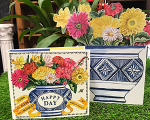 Happy Day Floral Bouquet Pop-Up Book