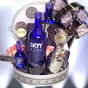 Baskets created for the Skyy Vodka Short Film Awards
