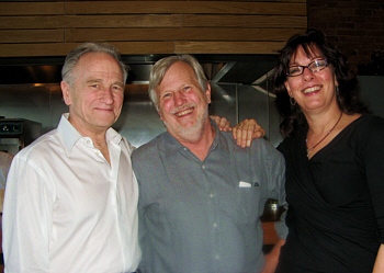 Terry and Wally with John Williams